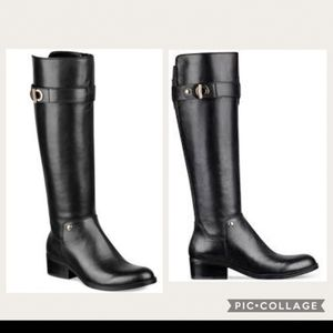 Tommy Hilfiger Leather Riding Boots